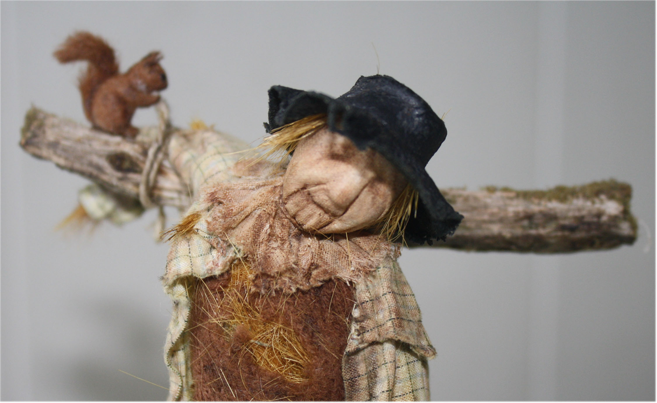 Miniature doll Scarecrow 4